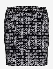 DEDICATED - Skirt Ripa Dedicated Jacquard - pennkjolar - black - 0