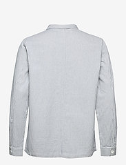 DEDICATED - Worker Jacket Sala Thin Stripes - chemises à carreaux - blue - 1