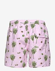 DEDICATED - Swim Shorts Sandhamn Coconuts - uimashortsit - pink - 1