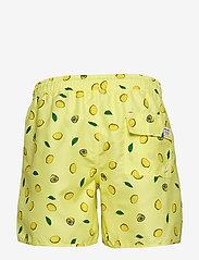 DEDICATED - Swim Shorts Sandhamn Lemons - uimashortsit - yellow - 1
