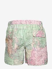 DEDICATED - Swim Shorts Sandhamn Map - badehosen - multi color - 1