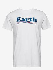 DEDICATED - T-shirt Stockholm Vote Earth - lyhythihaiset - white - 0