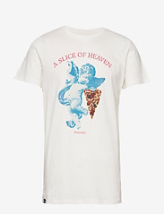 DEDICATED - T-shirt Stockholm Slice Of Heaven - lyhythihaiset - off-white - 0