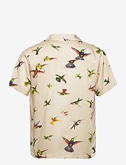 DEDICATED - Shirt Short Sleeve Marstrand Flying Hummingbirds Multi Color - geruite overhemden - multi color - 1