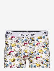DEDICATED - Boxer Briefs Kalix Peanuts AOP Multi Color - boxers - light grey - 0