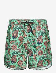 DEDICATED - Swim Shorts Sandhamn Indian Flowers Multi Color - shorts de bain - multi color - 0