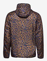 DEDICATED - Windbreaker Skara Leopard - kurtki-wiosenne - chipmunk - 1