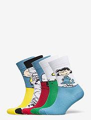 DEDICATED - Socks Sigtuna Peanuts 5-pack - chaussettes régulières - multi - 1