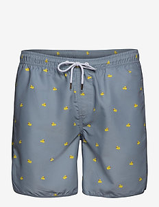 Swim Shorts Ducks - badehosen - grey