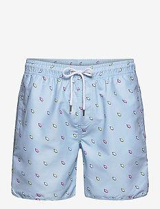 Swim Shorts Ice Creams - badebukser - light blue