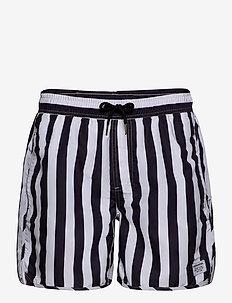 Swim Shorts Big Stripes - shorts de bain - white