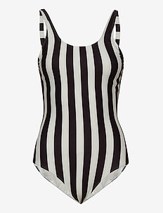 Swimsuit Rana Big Stripes - badeanzüge - white