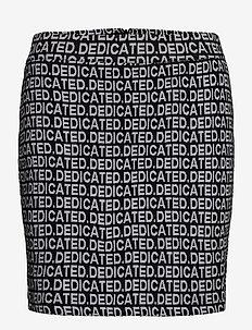 Skirt Ripa Dedicated Jacquard - kynähame - black