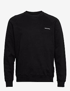 Sweatshirt Malmoe Dedicated Logo - sweats basiques - black