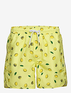 Swim Shorts Sandhamn Lemons - shorts - yellow