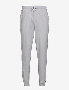 Jogger Lund Dedicated Logo - collegehousut - grey melange