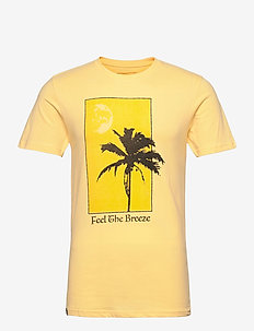 T-shirt Stockholm Feel the Breeze Yellow - t-shirts à manches courtes - snapdragon