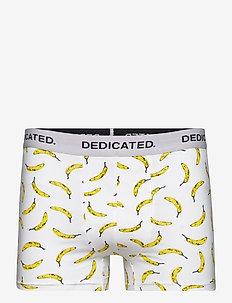 Boxer Briefs Kalix Bananas White - boxers - white