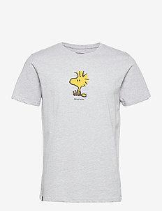 T-shirt Stockholm Woodstock Grey Melange - t-shirts à manches courtes - grey melange