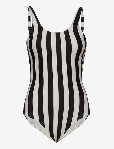 Swimsuit Rana Big Stripes - 1 pièces - white