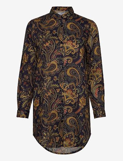 Shirt Fredericia Bold Paisley - chemises en jeans - navy