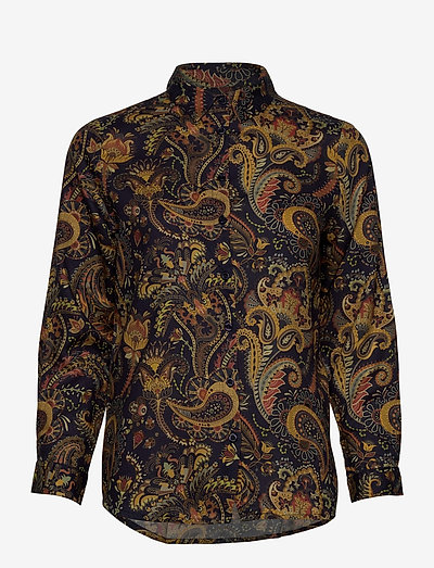 Shirt Dorothea Bold Paisley - chemises en jeans - navy