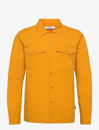 Shirt Edsbyn Golden Yellow - koszule w kratkę - golden yellow
