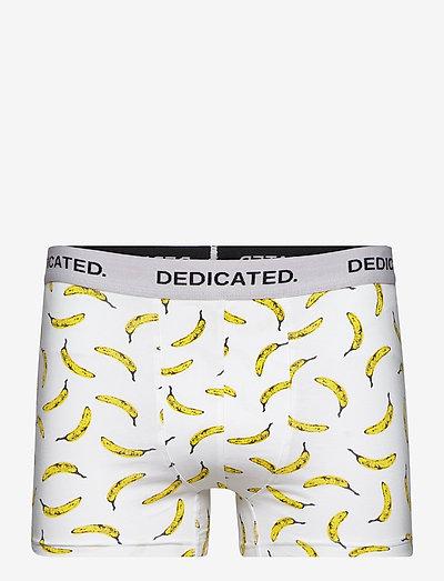 Boxer Briefs Kalix Bananas White - caleçon - white