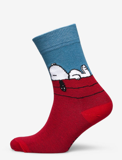 Socks Sigtuna Snoopy Red - chaussettes régulières - red