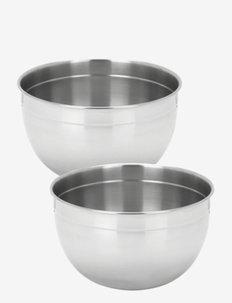 Resto by Demeyere Bowl set 2 pcs - sekoituskulhot - silver