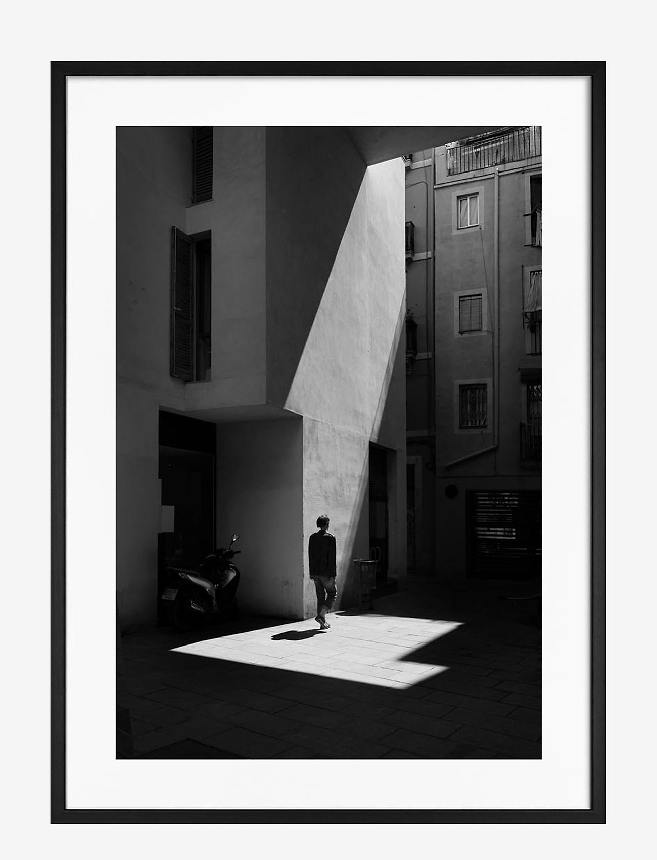 Democratic Gallery - Poster Monochrome Sunbeam - décor - black - 0
