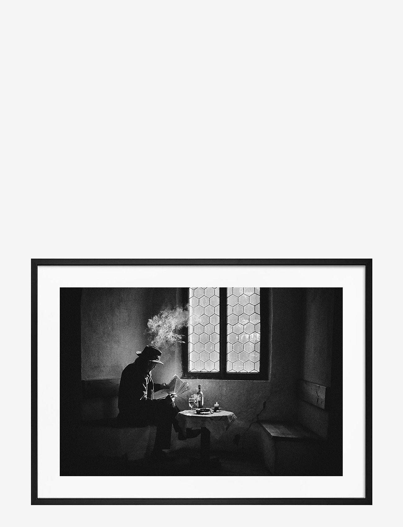 Democratic Gallery - Poster Monochrome Man - wystrój domu - black - 0
