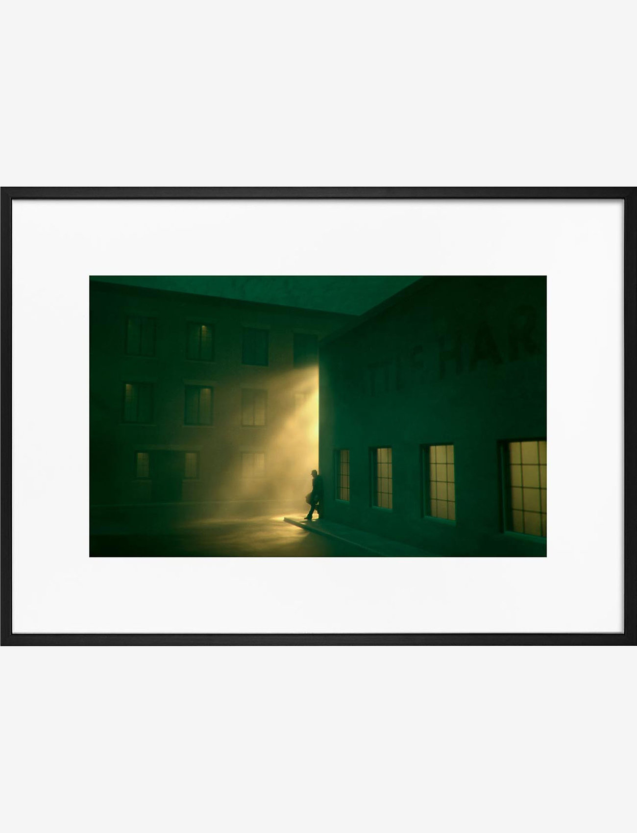 Democratic Gallery - Poster Film Noir No. 2 - wystrój domu - green - 0