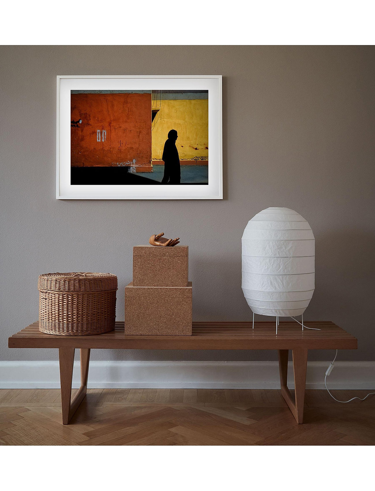 Democratic Gallery - Poster Autumn Journey in Iran - wystrój domu - orange - 1
