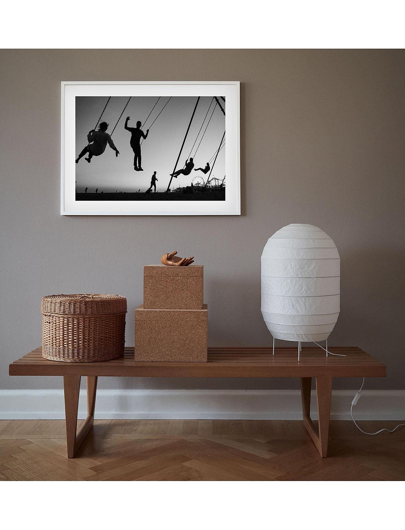 Democratic Gallery - Poster Silhouette Swing - home decor - black - 1