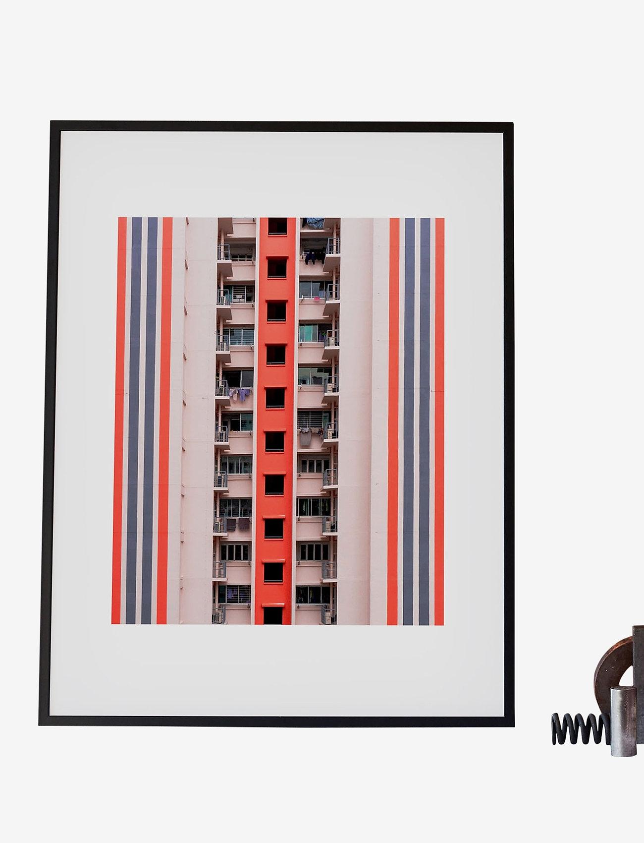 Democratic Gallery - Poster Balconies - wystrój domu - pink - 1