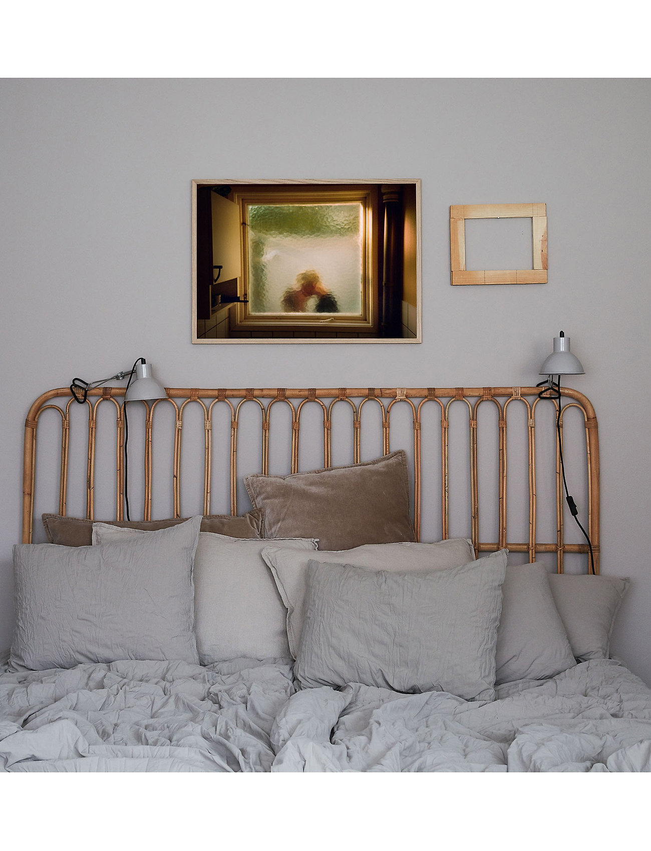Democratic Gallery - Poster Love Window - wystrój domu - brown - 1