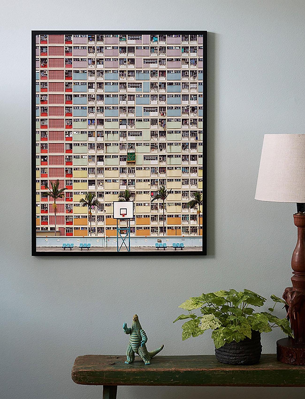 Democratic Gallery - Poster Colorful Architecture - home decor - red - 1