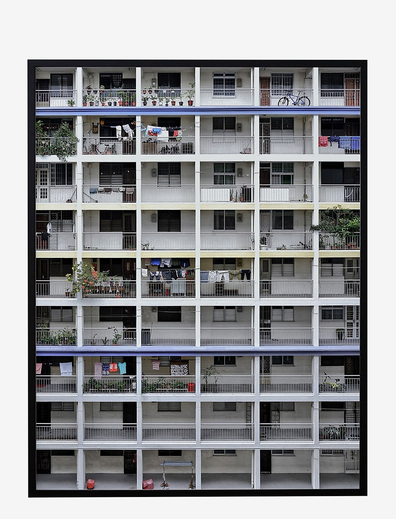 Democratic Gallery - Poster Light Architecture - wystrój domu - white - 1