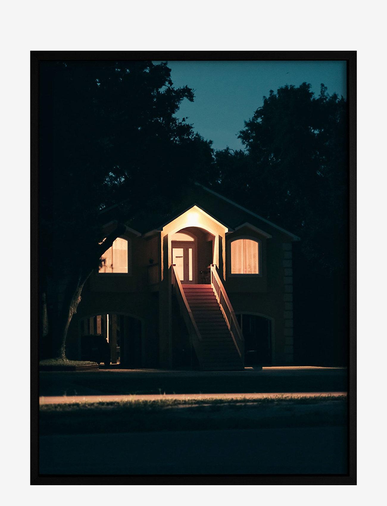 Democratic Gallery - PosterAt Dusk - home decor - orange - 0
