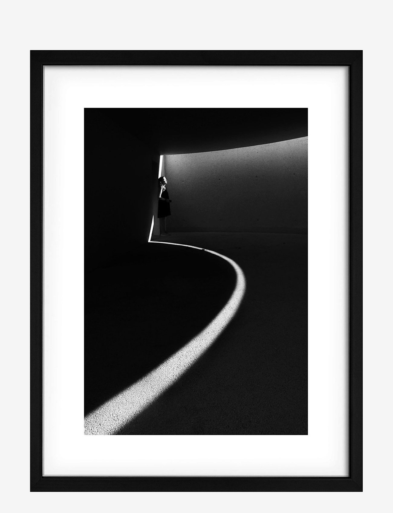 Democratic Gallery - Poster Light Thoughts - wystrój domu - black - 0