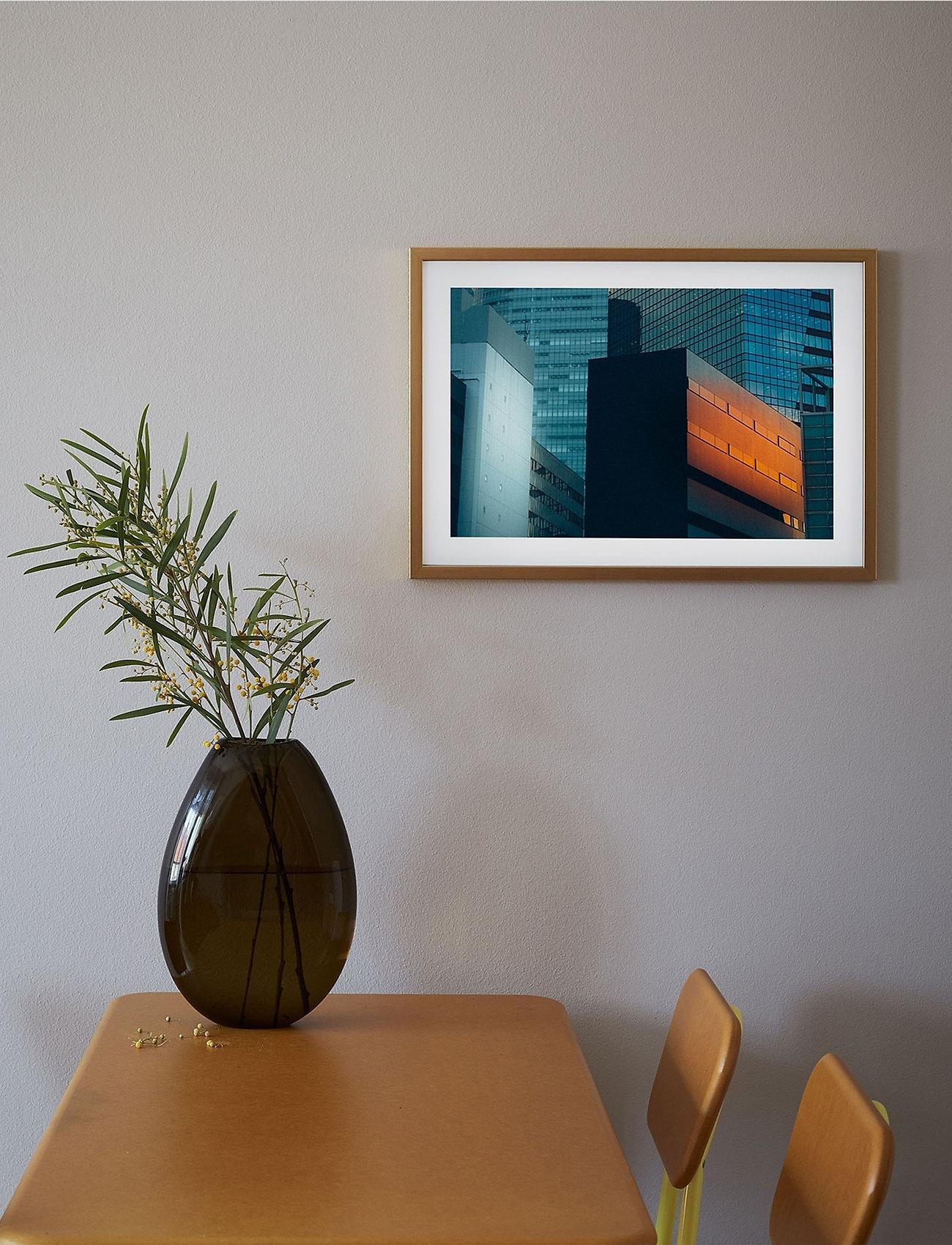 Democratic Gallery - Poster Skyscrapers - home decor - orange - 1