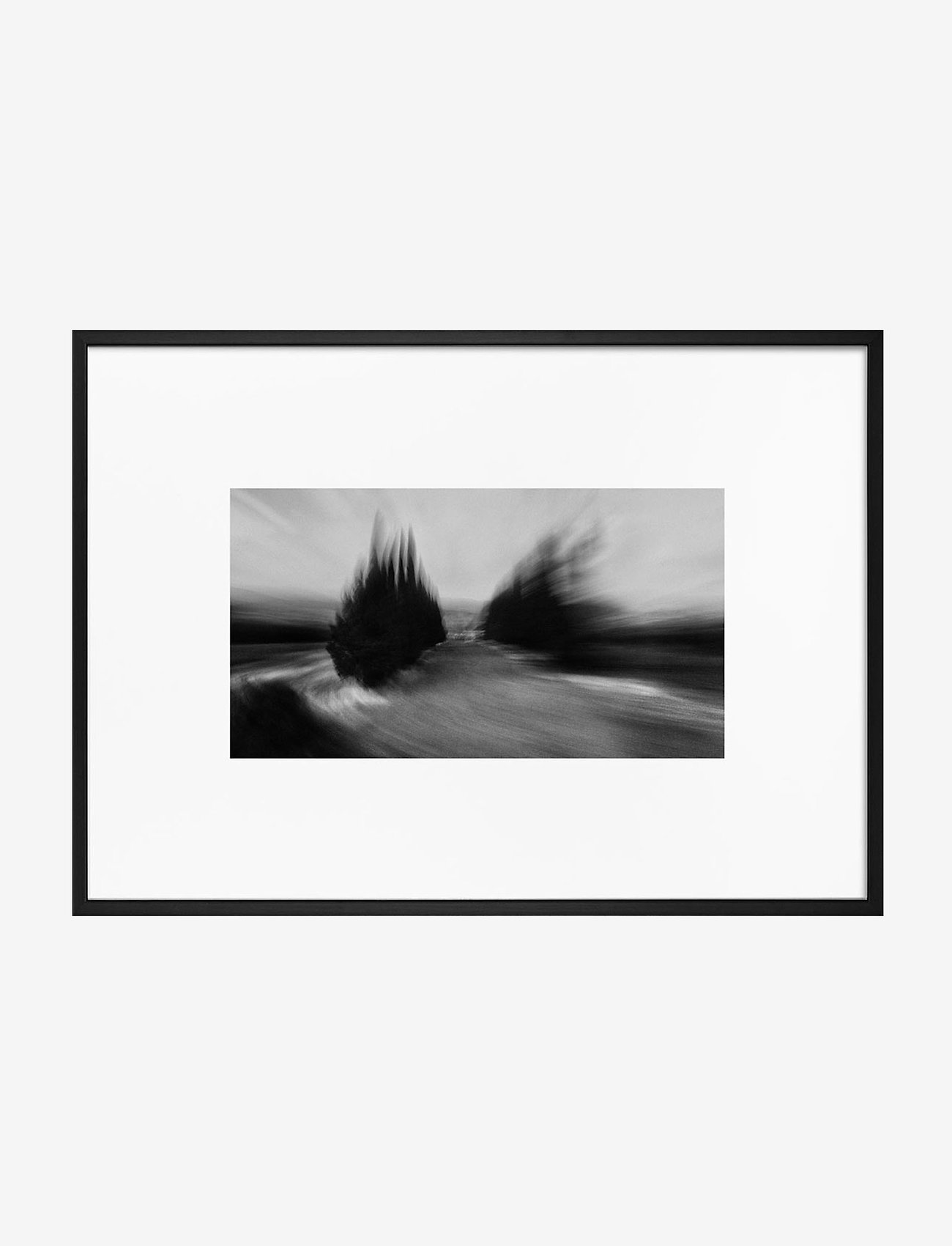 Democratic Gallery - Poster Monochrome Storm - home decor - black - 0