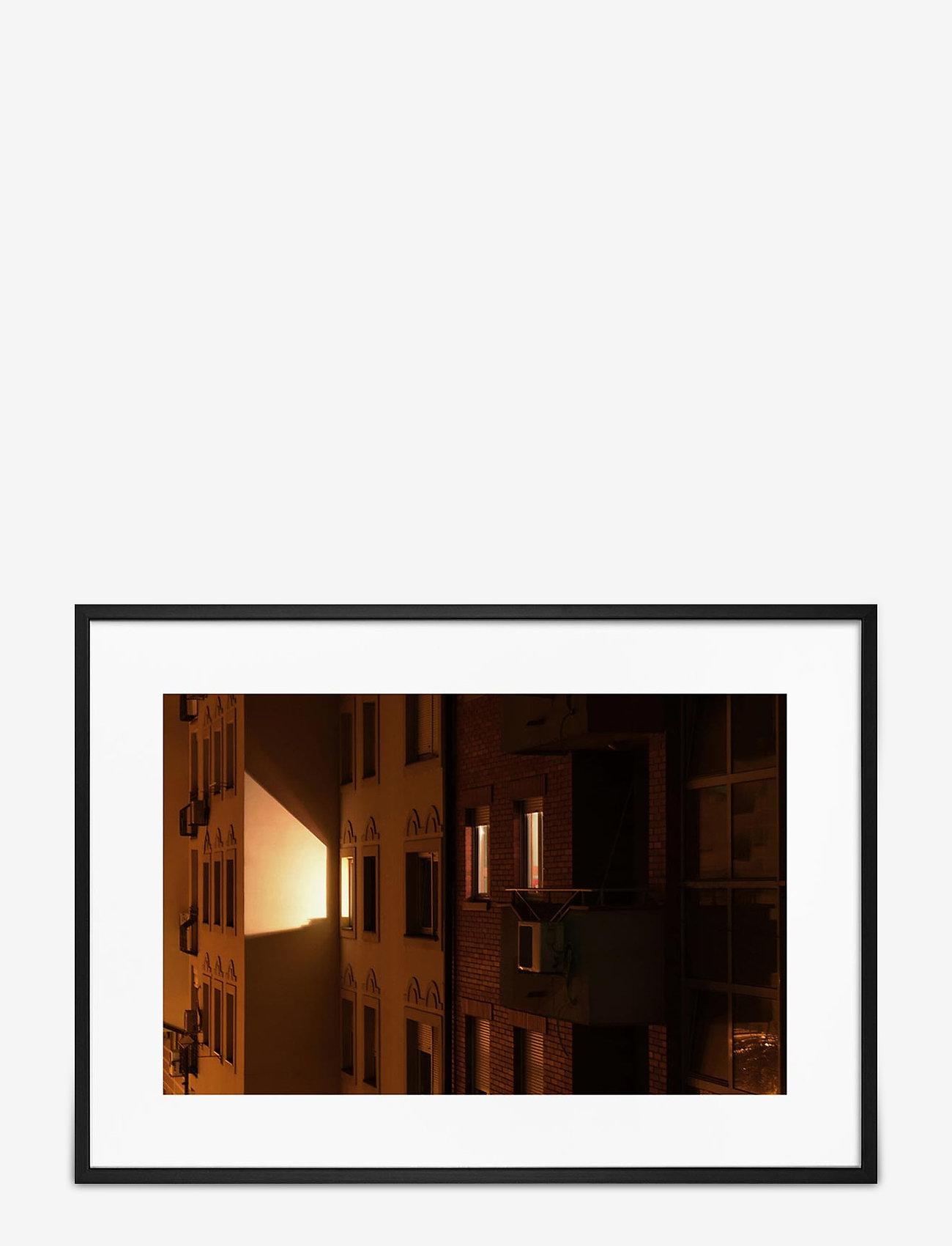 Democratic Gallery - Poster House & Lights - home decor - orange - 0
