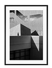 Poster Sun & Shadows - BLACK