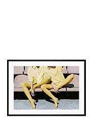Poster Sunshine Fashion No. 2 - YELLOW