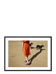 Poster Walking Dogs - ORANGE