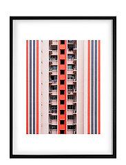 Poster Balconies - PINK