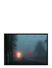 Poster Train Tracks - BLUE
