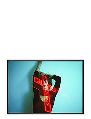 Poster Jesus Saves - RED